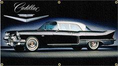 57 Cadillac Eldorado 6x3 Banner