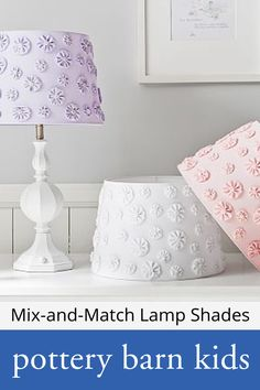 Mix-and-Match Lamp Shades