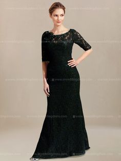 mother of the bride dress_Black