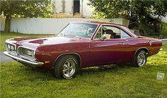 1969 Plymouth Barracuda Notchback. My birth year...11/11.