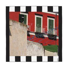 """Hermès Editeur   H2 Daniel Buren """"Place des Martyrs, Procida, Italie""""."""