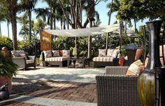 This neat gazebo pool patio tropical inspire decor ideas in miami we ...