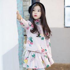 Cute Little Girls, Cute Kids, Cute Babies, Korean Babies, Asian Babies, Baby Girl Fashion, Kids Fashion, Baby Tumblr, Ulzzang Kids