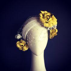Love this headpiece Millinery Hats, Fascinator Hats, Fascinators, Race Wear, Vintage Veils, Races Outfit, Cocktail Hat, Fancy Hats, Head Accessories