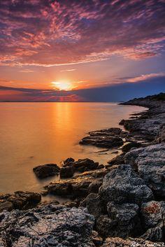 Sunset at the island Murter by Petr Pazdírek on 500px