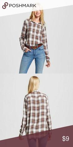 Mossimo women's boyfriend shirt New size XXL Mossimo women's boyfriend shirt New size XXL Mossimo Supply Co. Tops