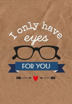 I only have eyes for you! Eye Jokes, Optometry Humor, Glasses Quotes, Eye Facts, Office Christmas Decorations, Optical Shop, Eye Doctor, Good To See You, Pain Quotes