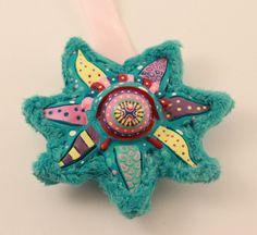 Psychedelic Starfish Handmade Interior Decoration