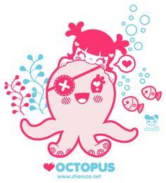 Charuca Love Octopus by charuca, via Flickr