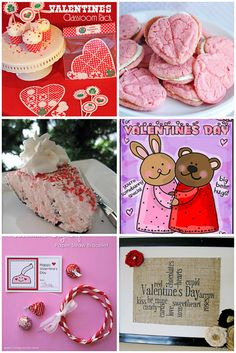 Valentines Day crafts and food at TidyMom.net
