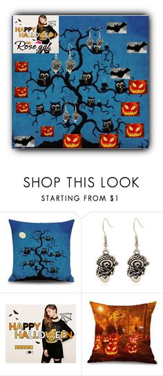 """""""Rosegal Halloween giveaway"""" by fatimka-becirovic ❤ liked on Polyvore featuring Halloween and giveaway"""