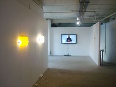 Never Mind The Pollocks, Installation view (Bill Culbert, James R Ford, Simon Esling) Wall Lights, Ceiling Lights, Contemporary Artists, Ford, Mindfulness, Lighting, Home Decor, Appliques, Decoration Home