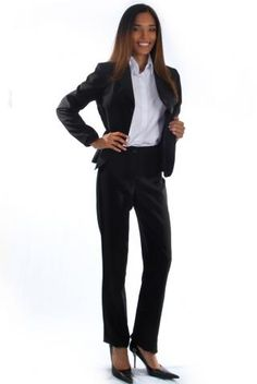3f5f051e55 Terno Social Oxford Preto - Uniforme Feminino - Yoshida Hikari - Uniformes  Sociais para Empresas - uniformes sob medida