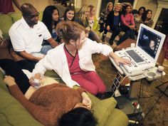 Ultrasound parties: New frontier in pregnancy oversharing (Photo: Brandi Simons for TODAY.com)