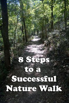 8 Steps to a Successful Nature Walk Nature walks can be as simple or as complicated as you want them to be. Let's talk about the 8 easy steps to enjoying a successful nature walk. Outdoor Education, Outdoor Learning, Early Education, Nature Activities, Outdoor Activities, Mindfulness Activities, Kid Activities, Get Outdoors, The Great Outdoors
