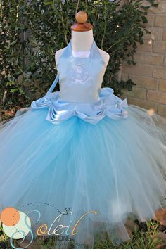 Cinderella Princess Tutu Dress Ball Gown by SCbydesign on Etsy, $59.99 gorgeous!!
