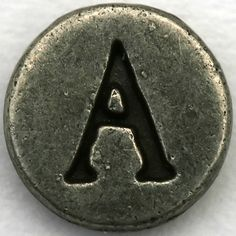 Pewter Letter A | Flickr - Photo Sharing!