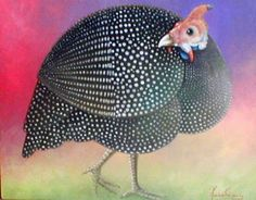 Guta Rocha: LENDA AFRICANA Por que a galinha-d'angola tem pin...