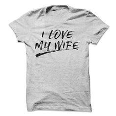 I Love My Wife Brushed Shirt