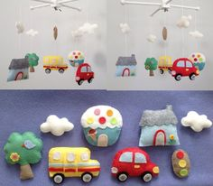 City Theme Baby Mobile.