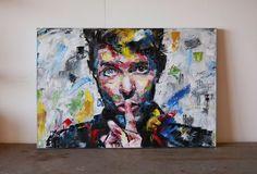 David Bowie Original Painting 30 Worldwide by RichardDayStudio