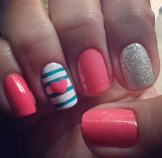 Cute Nail Art Design Ideas #nail #nails click to see more cute ideas