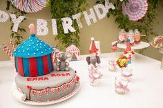 Zirkus Party Kuchen