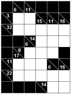 Number Logic Puzzles: 22606 - Kakuro size 1