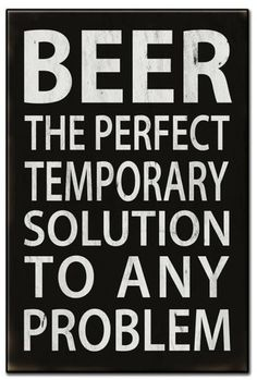 Beer The Perfect Solution Metal Sign 16 x 24 Inches Beer The Perfect Solution Blechschild 16 x 24 Zoll Beer Memes, Beer Humor, Beer Funny, Alcohol Quotes, Alcohol Humor, Funny Alcohol, Funny Animal Quotes, Funny Quotes, Vintage Metal Signs