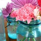 We have seen mason jars used time and again, indoors and out