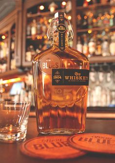 Ol' Boy Blues Whiskey — Designspiration