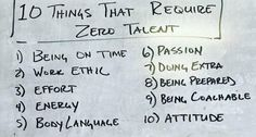 10 things that require zero talent   Andrew Georgiou   LinkedIn