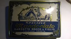 SCATOLA IN LATTA SPECIALE MANDORLATO GARZOTTO ROCCO - collezione personale