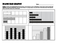 This activity provides students with blank bar graphs that are missing all elements other than the bars themselves.  Students are instructed to pick one of the bar graphs shown, cut it out and glue it on a piece of notebook paper.  Then students must write a scenario to go with the data represented in the bar graph and label the title, x axis, y axis, scale and intervals.