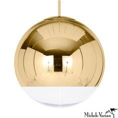 Mirror Ball Pendant Light Large