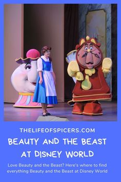 Are you a Beauty and the Beast fan? Here is where you can find everything Beauty and the Beast at Disney World from characters to food to shows and merchandise. Disney Planning, Disney Tips, Disney Fun, Disney World Characters, Disney World Magic Kingdom, Disney World Florida, Walt Disney World, Disney World Hollywood Studios, Disney Home