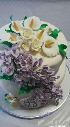 Flowers  - Cake by Monica