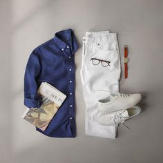 """""""Mi piace"""": 9,673, commenti: 83 - Phil Cohen (@thepacman82) su Instagram: """"Uncomplicate the complicated. ___ Sneakers: @commonprojects Off White Chinos: @grayers Glasses:…"""""""