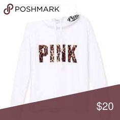 Pink sweatshirt Soft inside very pretty and comfy PINK Victoria's Secret Sweaters