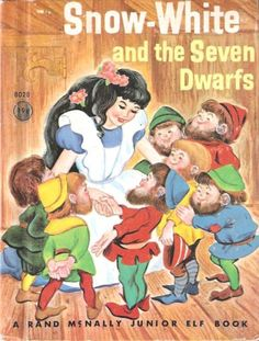 Illustrated by Irma Wilde, Snow-White and The Seven Dwarfs, Rand McNally & Co. 1959.