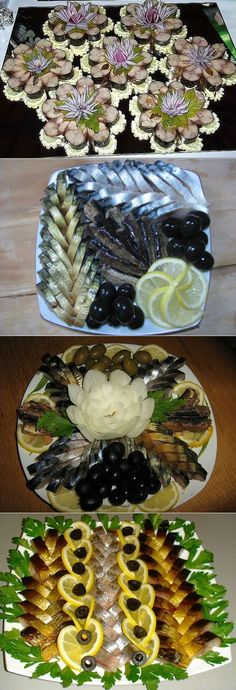 Beautiful Pictures Of Food And Fruit Arts Food Carving, Shellfish Recipes, Food Garnishes, Cooking Recipes, Healthy Recipes, Snacks Für Party, Food Decoration, Food Platters, Fruit Art