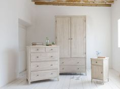 Nothing like a bit of hard graft, eh? Getting the chalky wash mix and the tongue 'n' groove just right on this reclaimed timber wardrobe was worth it. Wooden Furniture, Bedroom Furniture, Hard Graft, Comfy Sofa, Reclaimed Timber, Tongue And Groove, Chest Of Drawers, Room Inspiration, Tall Cabinet Storage