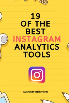 Discover 19 of the best Instagram analytics tools. These tools provide a multitude of data and insights that can help you ace your Instagram marketing game. #instagram #instagramfollowers #instagrammarketing   #MakeMoney #money #InstagramTips Internet Marketing, Online Marketing, Social Media Marketing, Digital Marketing, Marketing Ideas, Instagram Story Ideas, Instagram Tips, Public Relations, Social Media Tips