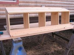 Life in Southeast Alaska » Blog Archive » Nesting Box for Chicken Coop