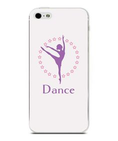 Look what I found on #zulily! 'Dance' Personalized Phone Case #zulilyfinds