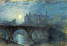 Alnwick Castle by L.Turner