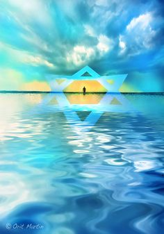 NEW - INSPIRATIONAL ART MADE BY ISRAELI ARTIST TITLE = HARMONY  For more info. please click http://www.artsncraftsisrael.com/Art-Gallery-Online-Israel-Artists-Crafts/Orit-Martin-Inspirational-Art-Israel #StarOfDavid