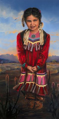 Painting Gallery - Native American Portraits | Karen Clarkson