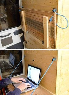 From Rusty Van To Cosy Home - DIY Camper - 10