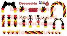 Mickey Mouse Ballon Decorations